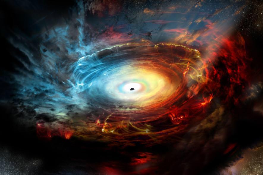 これがブラックホールの姿! 史上初、撮影 ...